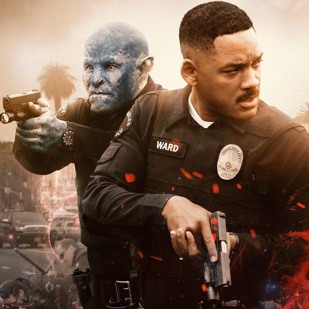 Bright movie review Will Smith Joel Edgertons strong performances cant save this cluttered Netflix film