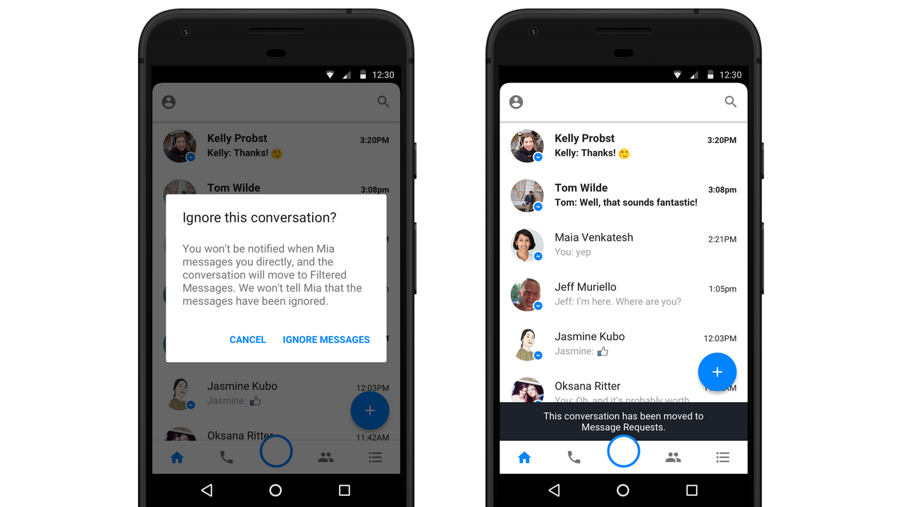 Facebook changes messaging rules to help curtail harassment