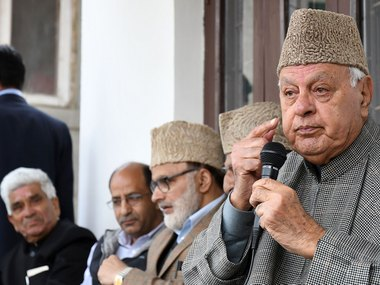 Farooq Abdullah says National Conference will contest next Jammu and Kashmir Assembly elections alone