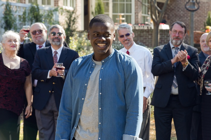 Daniel Kaluuya as Chris Washington in a still from Get Out