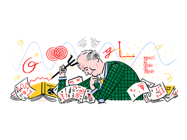 Max Born's 135th birth anniversary celebrated in a Google Doodle; he was renowned for his work in quantum mechanics