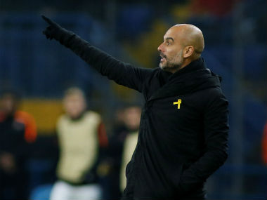 Champions League Pep Guardiola unfazed by Manchester Citys first loss of season says hes pleased with youngsters