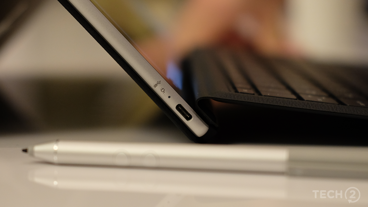 The single USB-C port on the HP might be a problem, but at least you get a bundled dongle.