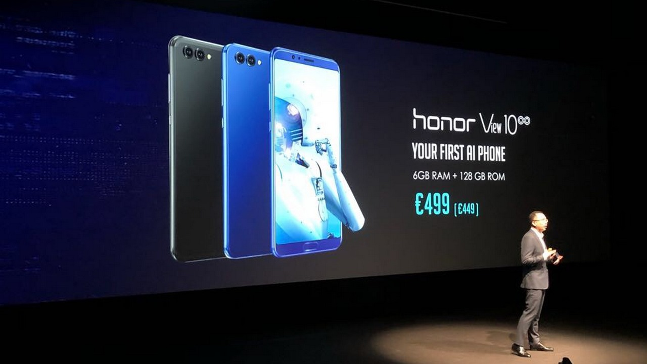 Honor V10 with AI dual rear cameras announced
