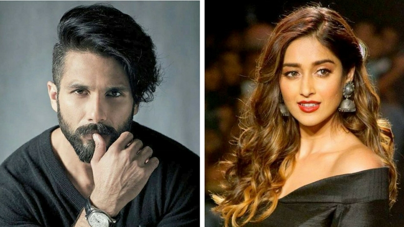 Shahid Kapoor and Ileana D'Cruz. Images via Facebook