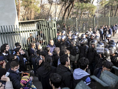 Protests in Iran continue for third day Govt warns demonstrators will pay the price forces media blackout