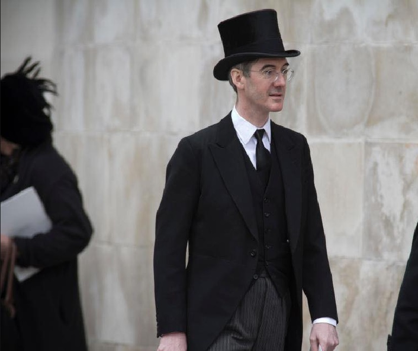 Jacob Rees-Mogg. Image from Facebook.