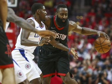 NBA James Hardens 51point outing in vain as Rockets lose to Clippers Warriors beat Lakers for 11th straight win