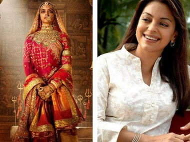 Padmavati controversy: Juhi Chawla condemns protesters for giving death threats