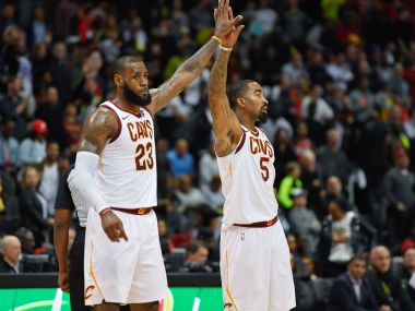 NBA: LeBron James leads Cavaliers to 10th straight win; Kyrie Irving helps Celtics defeat 76ers