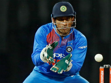 MS Dhoni's dismissals in the ongoing India-Sri Lanka T20I series were at the centre of MSK Prasad's shower of praises. Reuters
