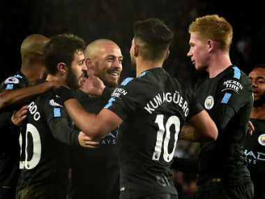 Premier League Manchester City face Everton with title success in sight United eye full points against Swansea