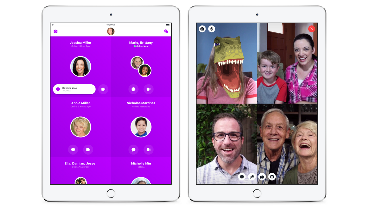 Facebook's New Messaging App Hopes to Reach Kids as Young as 6
