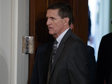 Michael Flynn, once Donald Trump's favourite general, plunged rapidly into ignominy