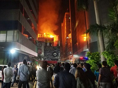 Mumbais Kamala Mills fire puts Delhi on alert NDMC threatens cancellation of licences of those violating rules
