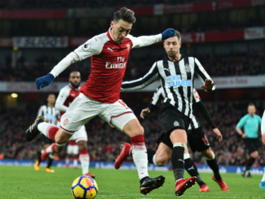 Premier League Mesut Ozils stunning strike helps Arsenal beat Newcastle United Chelsea edge past Southampton
