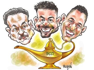 Indian cricketers are a pampered lot; but have they also been commodified?