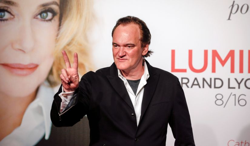 Director Quentin Tarantino arrives at the opening day of the Lumiere Festival in Lyon, France, October 8, 2016. REUTERS/Robert Pratta - S1BEUFVQQXAB