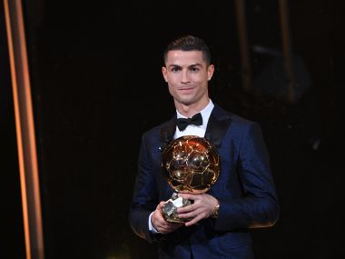 Cristiano Ronaldo beats Lionel Messi, Neymar to claim record-equalling fifth Ballon d'Or award