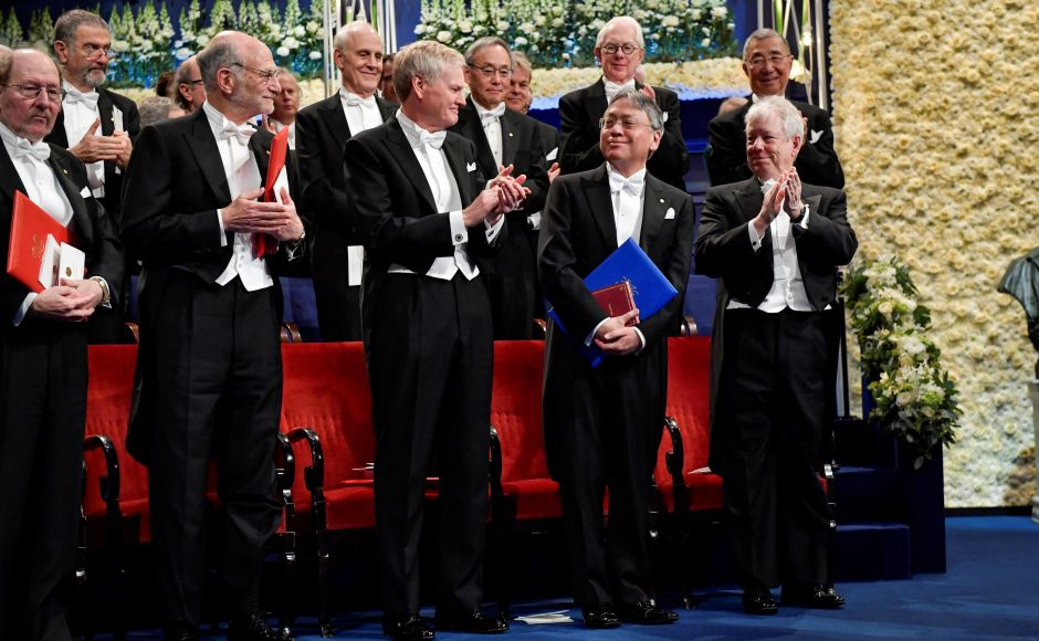 Kazuo Ishiguro, Richard Thaler and other 2017 Nobel Prize winners attend award ceremony in Stockholm