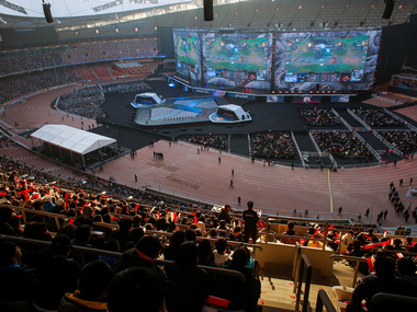 E-sports craze in China is being propelled by the country's booming video game market