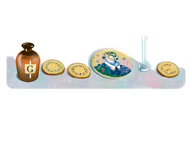 Google Doodle celebrates 1905 Nobel Prize winner Robert Koch for his research on tubercolosis
