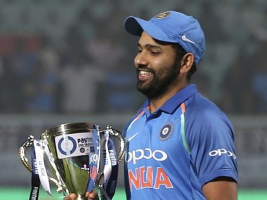 Rohit Sharma wants India to reproduce success on home soil overseas. AP