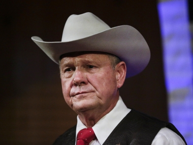 After Donald Trump, other Republican leaders support alleged sexual molester Roy Moore's candidature for US Senate