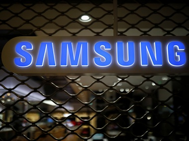 The logo of Samsung Electronics is seen at its office building in Seoul, South Korea. Image: Reuters