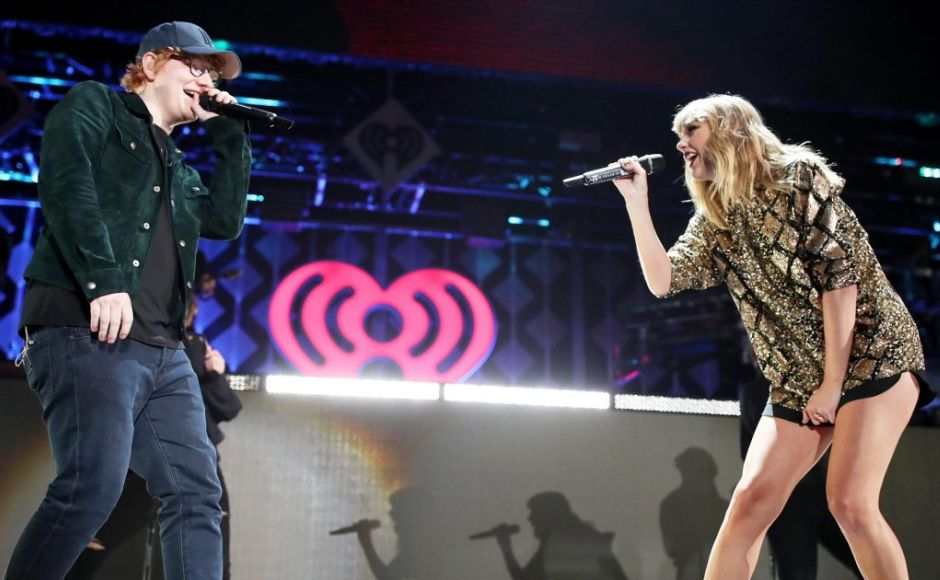 Taylor Swift, Ed Sheeran, Demi Lovato perform at Jingle Ball in Los Angeles