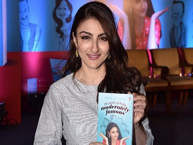 Soha Ali Khan on the perils of being moderately famous, turning author, and lessons her family taught her