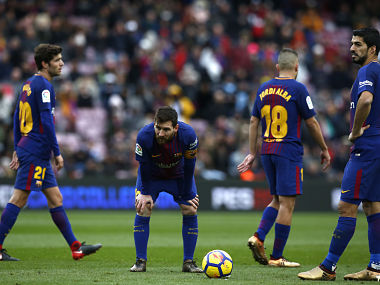 La Liga: Barcelona stay on top despite draw; Antoine Griezmann's winner takes Atletico over Real Madrid