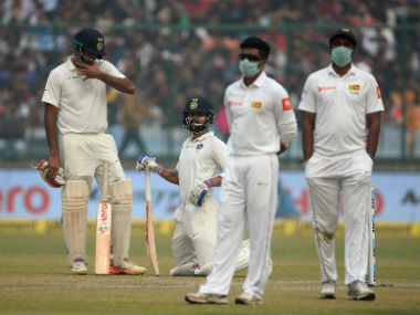 Delhi shouldn't host sporting events during winter months, advise doctors after Sri Lankan cricketers choke in smog