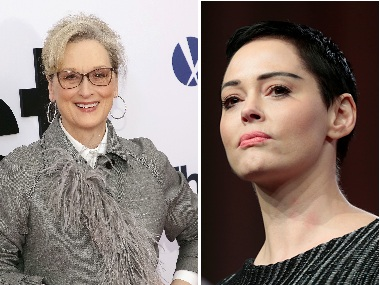 Rose McGowan calls out Meryl Streep, other actresses for planning silent protest at 2018 Golden Globes