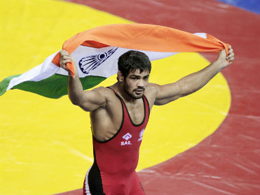 Sushil Kumar marks return to international arena with gold at Commonwealth Wrestling Championships