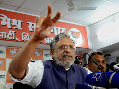 12%, 18% GST rates can be merged to new slab, says Bihar deputy chief minister Sushil Modi