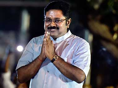 TTV Dhinakaran observes daylong hunger strike demanding formation of Cauvery Management Board