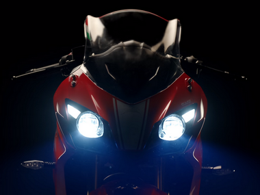 TVS teases sports tourer Apache RR 310 ahead of official launch on 6 December