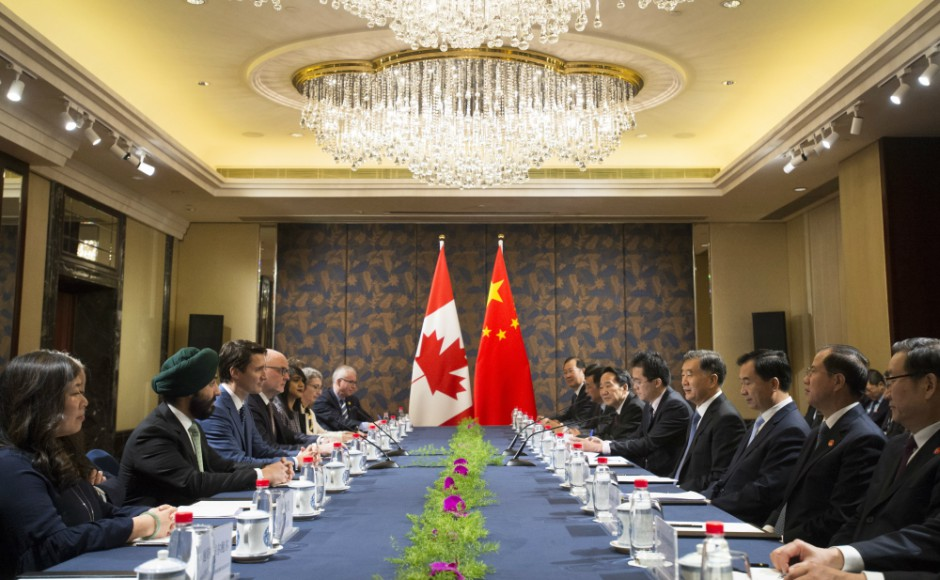 Justin Trudeau in China: Canada prime minister says he will keep exploring trade deal with Beijing