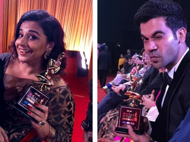 Star Screen Awards 2017: Rajkummar Rao, Vidya Balan win big for Newton, Tumhari Sulu