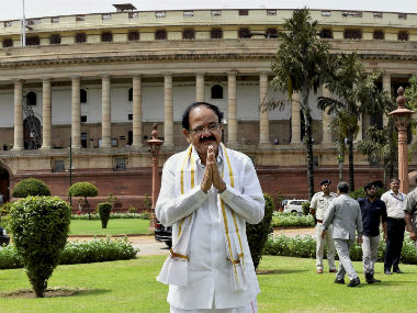 Venkaiah Naidu says not being able to interact with people is like a 'life without a wife'