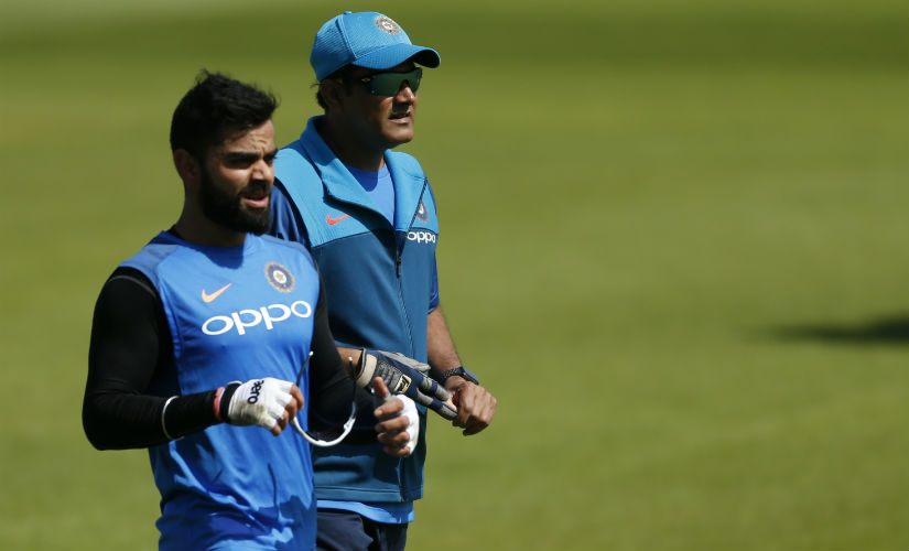 Anil Kumble went on to state in his resignation letter that his relation with Virat Kohli had become untenable. Reuters