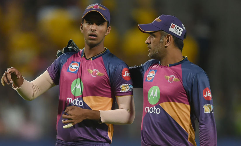 """""""People like Mahi bhai and Smith helped me a lot to stay in the present and made sure I know what to do."""": Washington"""