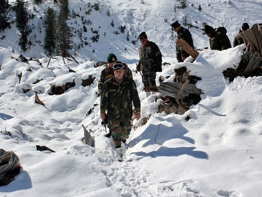 Five Indian Army soldiers missing after avalanche hits Jammu and Kashmir's Gurez, Nowgam sector