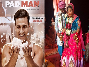Padman new poster released; Bharti Singh gets married: Social Media Stalkers' Guide