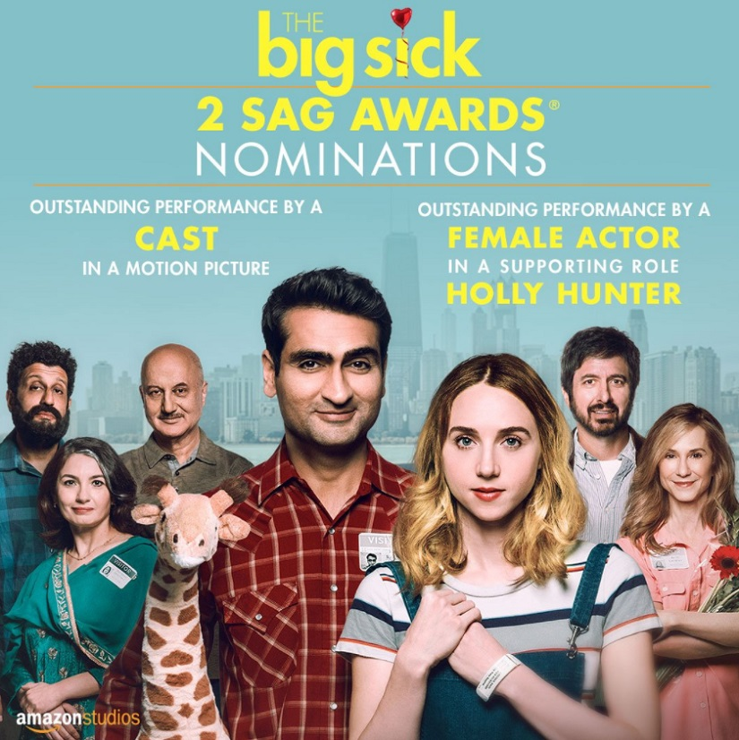 The Big Sick uploaded on a porn site and actor Kumail Nanjiani wants it to stay there