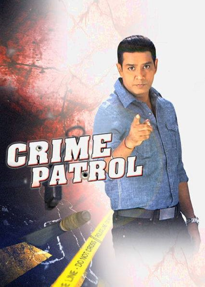 Poster of Crime Patrol featuring host Anup Soni.
