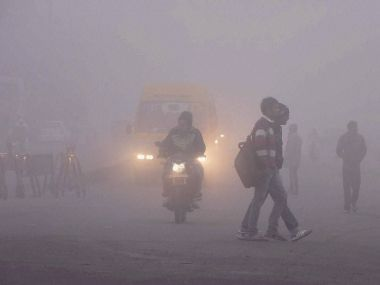 Shallow fog engulfs Delhi 54 trains delayed 12 rescheduled poor visibility hits air traffic