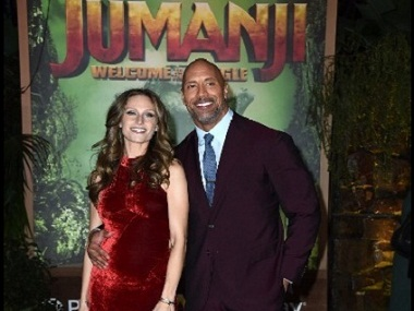 Dwayne Johnson to become father for the third time; girlfriend Lauren Hashian flaunts baby bump