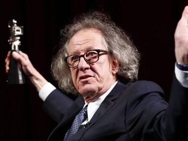 Geoffrey Rush steps down from Australian screen academy after 'inappropriate behaviour' claim